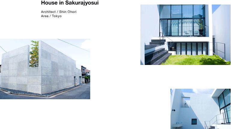 House in Sakurajyosui